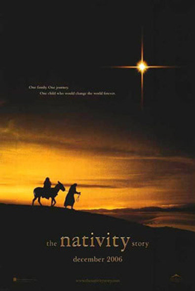 THE NATIVITY STORY (Double Sided Advance) ORIGINAL CINEMA POSTER