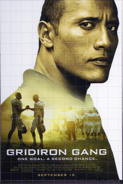 GRIDIRON GANG (Single Sided Regular) ORIGINAL CINEMA POSTER