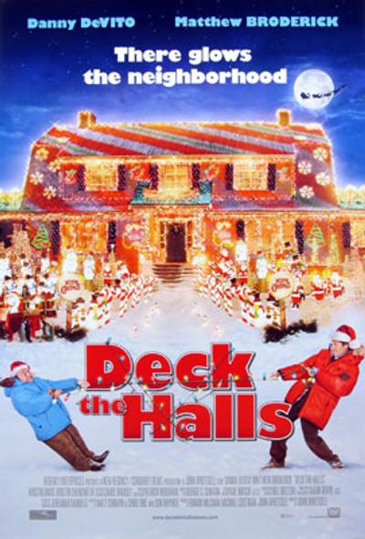 DECK THE HALLS (Double Sided Regular) ORIGINAL CINEMA POSTER