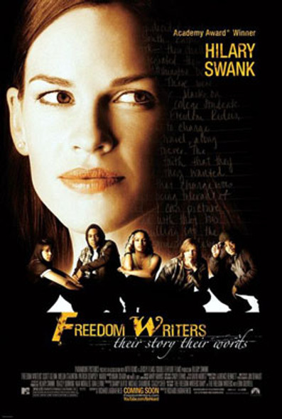 FREEDOM WRITERS (Double Sided Advance) ORIGINAL CINEMA POSTER