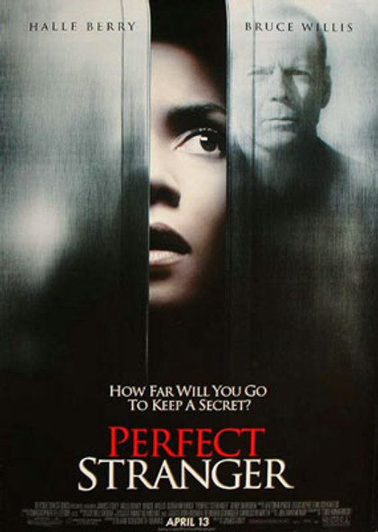 PERFECT STRANGER (Double Sided Regular UV Coated) ORIGINAL CINEMA POSTER