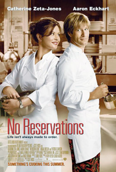NO RESERVATIONS (Double Sided Regular) ORIGINAL CINEMA POSTER