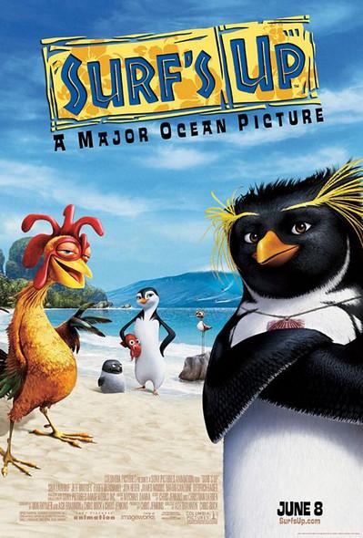 Surf's Up Original Cinema Poster