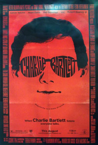 CHARLIE BARTLETT (Double Sided Regular) ORIGINAL CINEMA POSTER