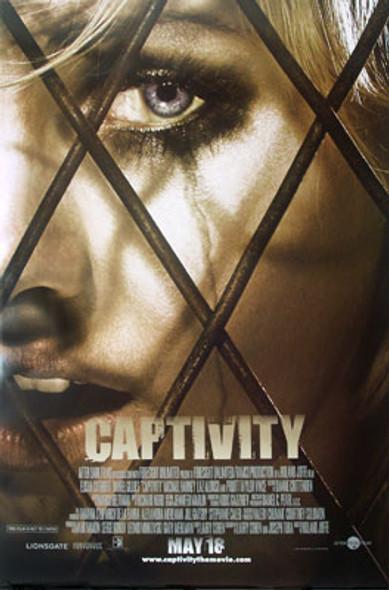 CAPTIVITY (Double Sided Regular) ORIGINAL CINEMA POSTER