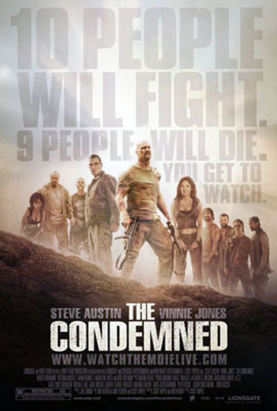 THE CONDEMNED (Single Sided Regular) ORIGINAL CINEMA POSTER