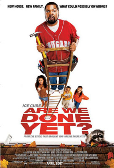 ARE WE DONE YET? (Double Sided Regular) ORIGINAL CINEMA POSTER