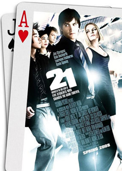 21 (Double Sided Regular) ORIGINAL CINEMA POSTER