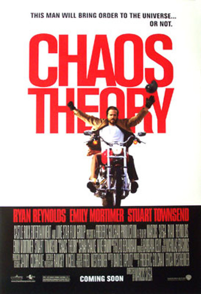 CHAOS THEORY (Double Sided Regular) ORIGINAL CINEMA POSTER