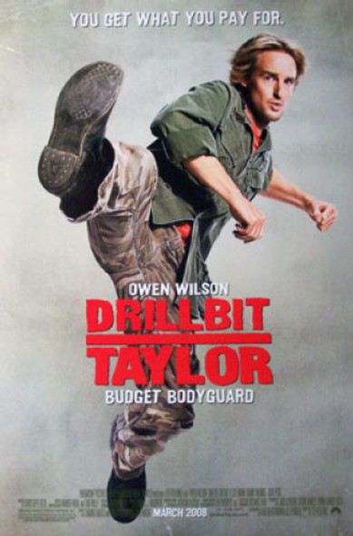 DRILLBIT TAYLOR (Double Sided Regular) ORIGINAL CINEMA POSTER