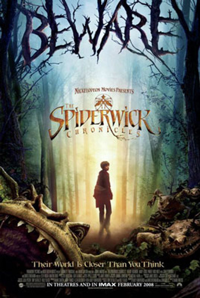 THE SPIDERWICK CHRONICLES (Double Sided Regular) ORIGINAL CINEMA POSTER