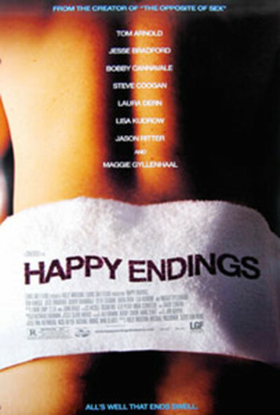 HAPPY ENDINGS (DOUBLE SIDED) ORIGINAL CINEMA POSTER