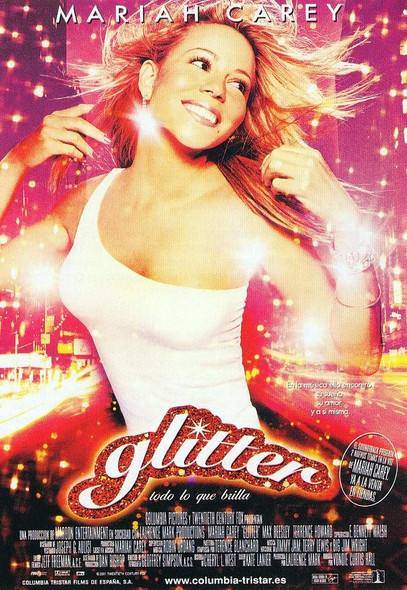 Glitter(Double Sided Spanish) Original Movie Poster