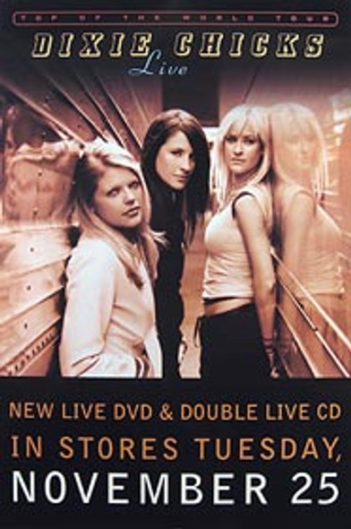 DIXIE CHICKS (Album Release) ORIGINAL MUSIC POSTER