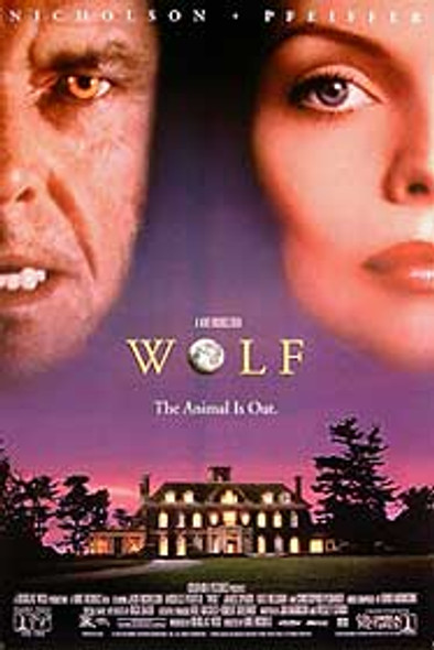 WOLF (Video) ORIGINAL VIDEO/DVD AD POSTER