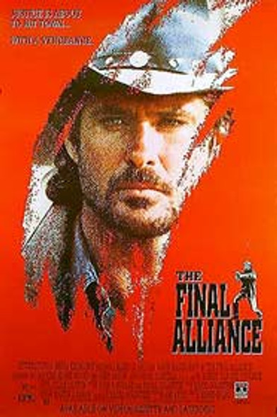 THE FINAL ALLIANCE (Single Sided Video) ORIGINAL VIDEO/DVD AD POSTER
