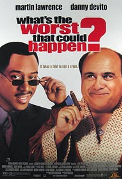 WHAT'S THE WORST THAT CAN HAPPEN? (Video) ORIGINAL VIDEO/DVD AD POSTER