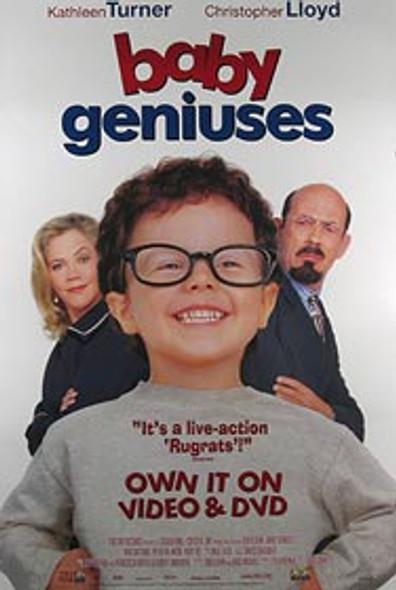 BABY GENIUSES (Video) ORIGINAL VIDEO/DVD AD POSTER
