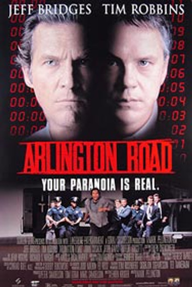 ARLINGTON ROAD (Video) (SINGLE SIDED) ORIGINAL VIDEO/DVD AD POSTER