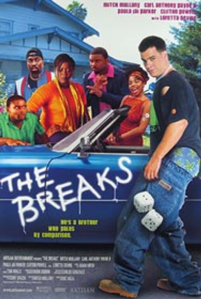 THE BREAKS (Video) ORIGINAL VIDEO/DVD AD POSTER