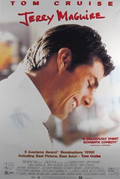 JERRY MAGUIRE (Video) ORIGINAL VIDEO/DVD AD POSTER