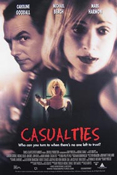 CASUALTIES (Video) ORIGINAL VIDEO/DVD AD POSTER