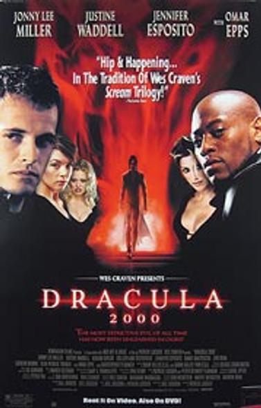 DRACULA 2000 (Video) ORIGINAL VIDEO/DVD AD POSTER