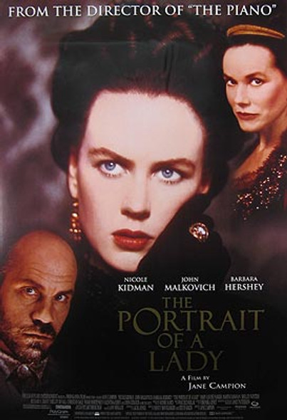 THE PORTRAIT OF A LADY (Video) ORIGINAL VIDEO/DVD AD POSTER