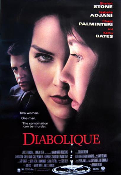 DIABOLIQUE (Video) ORIGINAL VIDEO/DVD AD POSTER