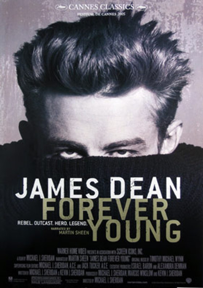 JAMES DEAN: FOREVER YOUNG (Single Sided Reprint) REPRINT POSTER