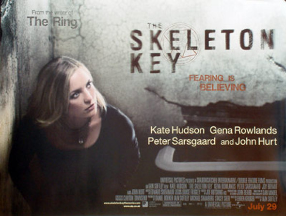 SKELETON KEY (DOUBLE SIDED) ORIGINAL CINEMA POSTER
