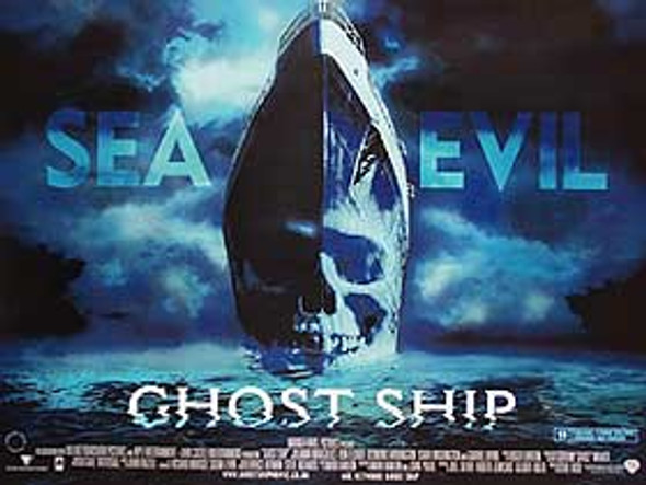 GHOST SHIP (DOUBLE SIDED) ORIGINAL CINEMA POSTER