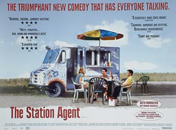 THE STATION AGENT (DOUBLE SIDED) ORIGINAL CINEMA POSTER