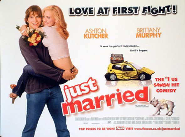 JUST MARRIED ORIGINAL CINEMA POSTER