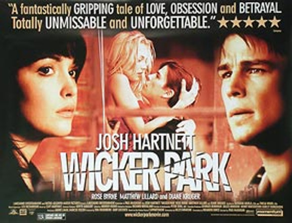 WICKER PARK ORIGINAL CINEMA POSTER
