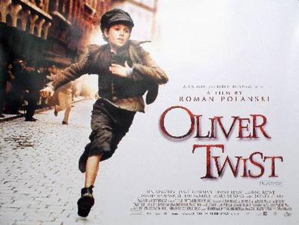 OLIVER TWIST (ROMAN POLANSKI) (DOUBLE SIDED) ORIGINAL CINEMA POSTER