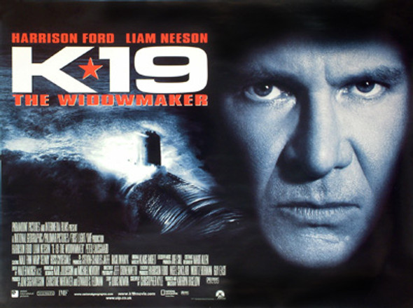K-19: THE WIDOWMAKER ORIGINAL CINEMA POSTER
