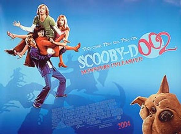 SCOOBY DOO 2 ORIGINAL CINEMA POSTER