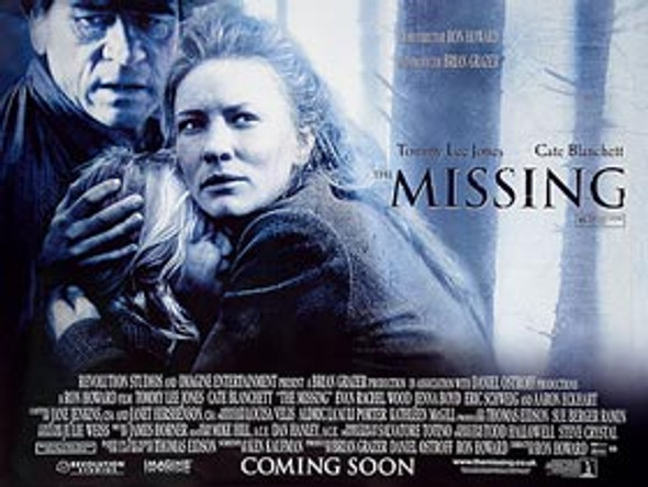 MISSING (DOUBLE SIDED) ORIGINAL CINEMA POSTER