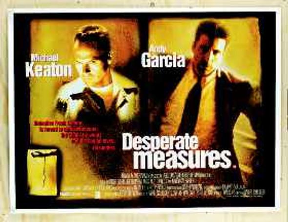 DESPERATE MEASURES (Single Sided) ORIGINAL CINEMA POSTER