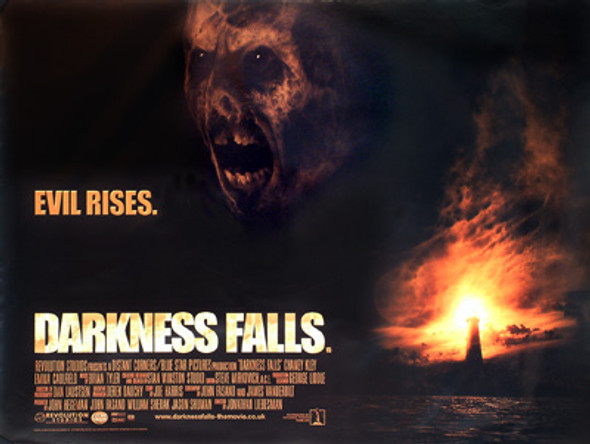 DARKNESS FALLS (Double Sided) ORIGINAL CINEMA POSTER