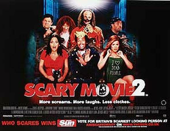 SCARY MOVIE 2 ORIGINAL CINEMA POSTER