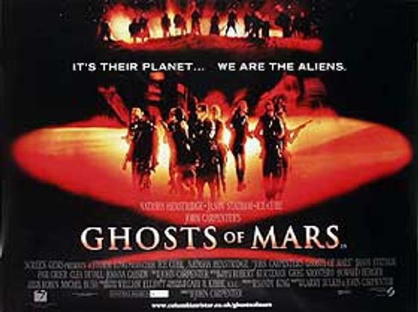 GHOSTS OF MARS ORIGINAL CINEMA POSTER