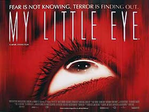 MY LITTLE EYE (Single Sided) ORIGINAL CINEMA POSTER