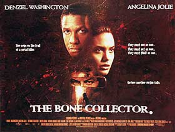 BONE COLLECTOR (DOUBLE SIDED) ORIGINAL CINEMA POSTER