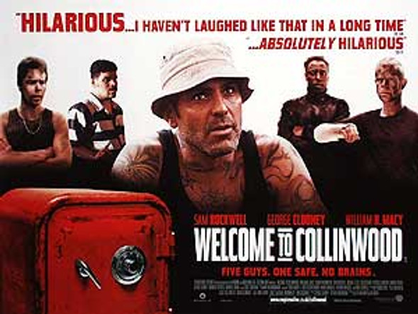 WELCOME TO COLLINWOOD (DOUBLE SIDED) ORIGINAL CINEMA POSTER