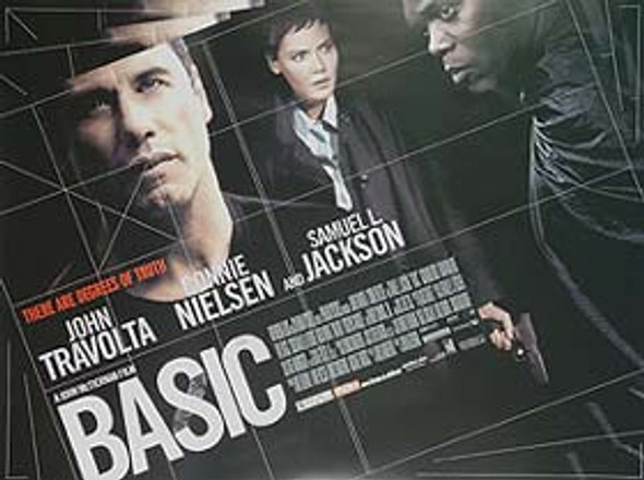BASIC (Double Sided) ORIGINAL CINEMA POSTER