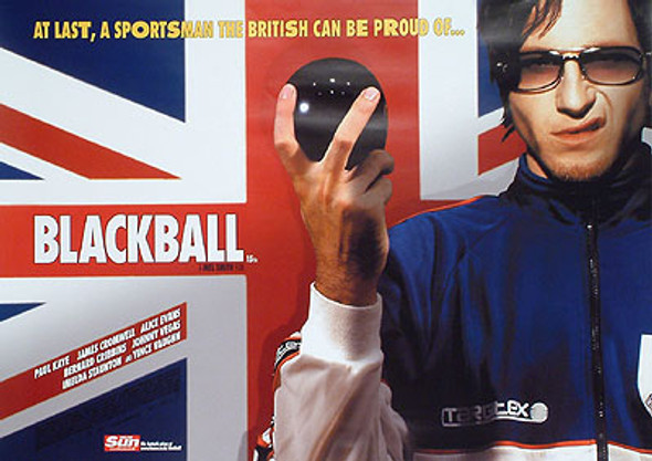 BLACKBALL (DOUBLE SIDED) ORIGINAL CINEMA POSTER