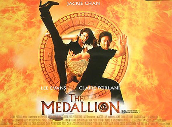 THE MEDALLION ORIGINAL CINEMA POSTER