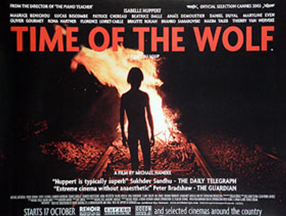 TIME OF THE WOLF ORIGINAL CINEMA POSTER